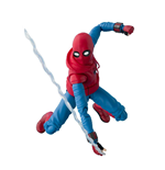 Spider-Man Homecoming S.H. Figuarts Action Figure Spider-Man Homesuit & Option Act Wall 15 cm
