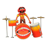 The Muppets Select Action Figure Animal & Drums 11 cm