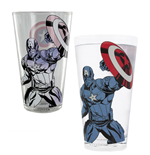 Marvel Avengers Colour Changing Glass Captain America