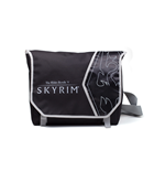 Skyrim - Logo And Dragon Art Messenger Bag