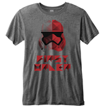 Star Wars Men's Fashion Tee: Episode VIII First Order Geo (Burn Out)