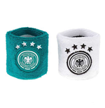 2018-2019 Germany Adidas Wristbands (White-Green)