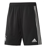 2018-2019 Germany Adidas Training Shorts (Black) - Kids