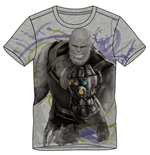 MARVEL COMICS Avengers: Infinity War Men's Thanos T-Shirt, Large, Grey