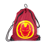 MARVEL COMICS Iron Man Rubber Print Gymbag, Red