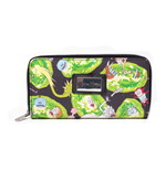 RICK AND MORTY Characters All-over Print Ladies Zipped Purse, Multi-colour