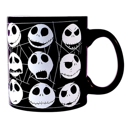 NIGHTMARE BEFORE CHRISTMAS Glow In The Dark Mug