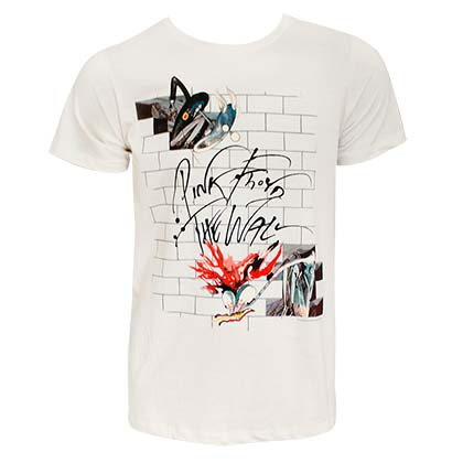 PINK FLOYD The Wall Off-White Tee Shirt