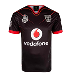 2018 New Zealand Warriors Canterbury Replica Home Rugby Jersey