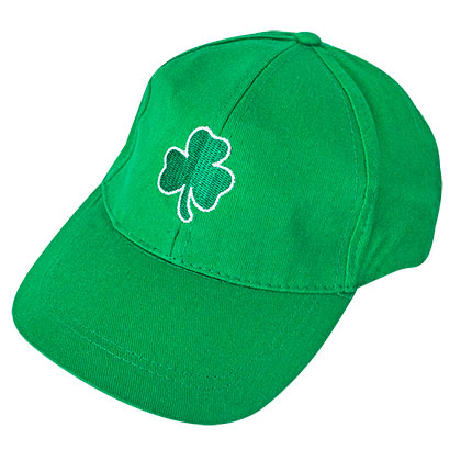 ST. PATRICK'S DAY Green Shamrock Dad Hat