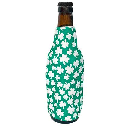 ST. PATRICK'S DAY Shamrock Bottle Insulator