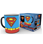 Superman Heat Change Mug Costume