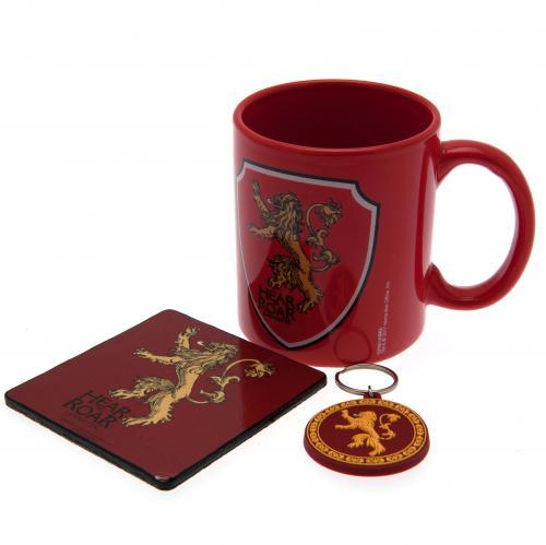 Game Of Thrones Mug Amp Coaster Set Lannister For Only C 19