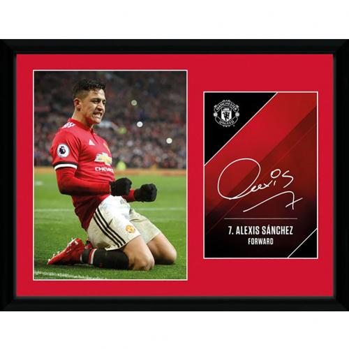 Manchester United F.C. Picture Sanchez 16 x 12