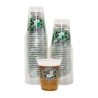 BROOKLYN BREWERY Plastic Cup 50 Pack