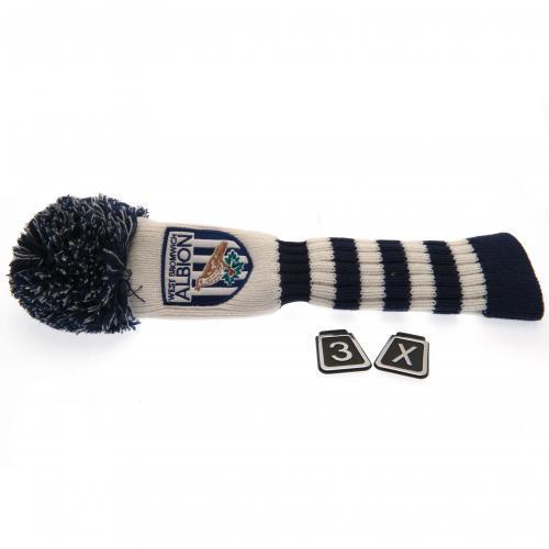 West Bromwich Albion F C Headcover Pompom Fairway For