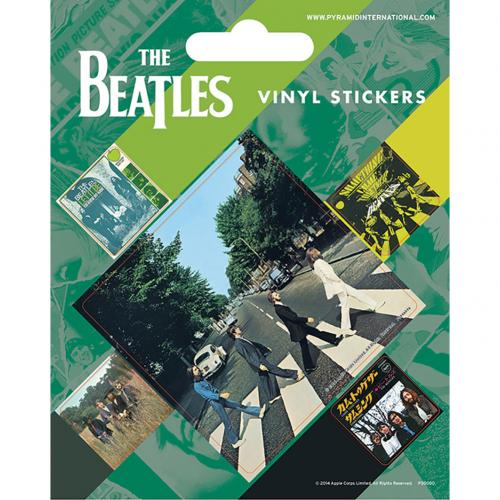 The Beatles Stickers Abbey Road