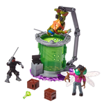 Teenage Mutant Ninja Turtles Mega Bloks Construction Set Baxter Mutation Lab