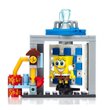 SpongeBob SquarePants Mega Bloks Construction Set Photo Booth Time Machine