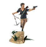 UNCHARTED 4 Nathan Drake PVC Statue, 26cm Tall, Multi-colour