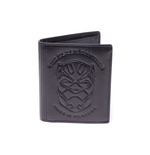 Black Panther - Debossed Leather Trifold Wallet
