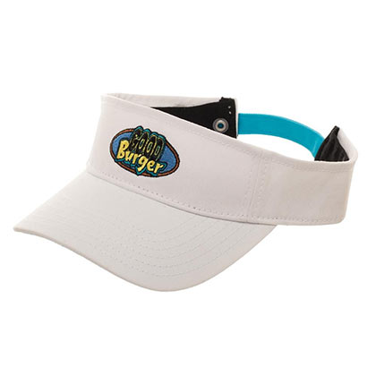 NICKELODEON White Good Burger Visor