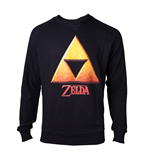 Zelda - Gold Triforce Crest Men's Sweater
