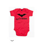 Red Baby bodysuit -Girl of Darkness-