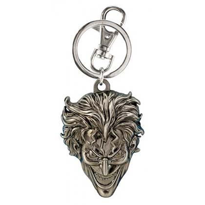 The JOKER Pewter Keychain