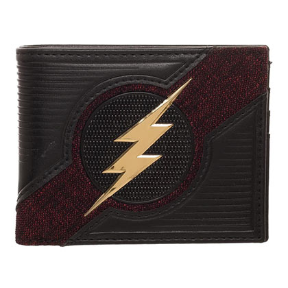 The FLASH Chrome Logo Bifold Wallet