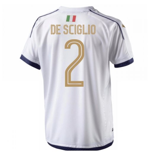 2006 Italy Tribute Away Shirt (De Sciglio 2) - Kids