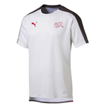 2018-2019 Switzerland Puma Stadium Jersey (White)