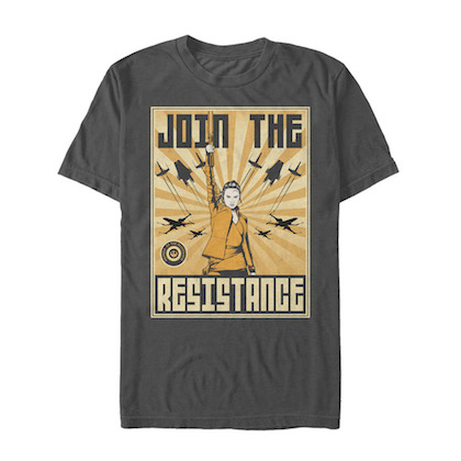 STAR WARS The Last Jedi Join The Resistance Tshirt