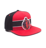 MARVEL COMICS Deadpool Stripe Badge Snapback Baseball Cap, Multi-colour