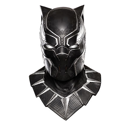 BLACK PANTHER Deluxe Overhead Latex Costume Mask