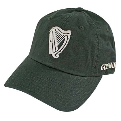 GUINNESS Harp Logo 1759 Dark Green Adjustable Hat