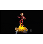 Marvel Comics Light-Up Q-Fig Figure Iron Man 14 cm