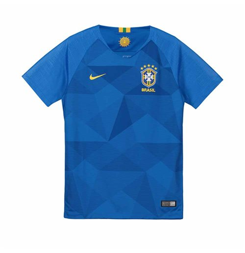 2018-2019 Brazil Away Nike Football Shirt (Kids)