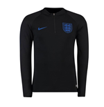 2018-2019 England Nike Training Drill Top (Black)