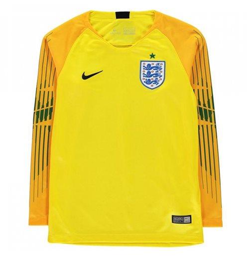258c1230d3b Buy 2018-2019 England Home Nike Goalkeeper Shirt (Yellow) - Kids
