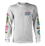Neck Deep Long Sleeves T-shirt In Bloom (WHITE)
