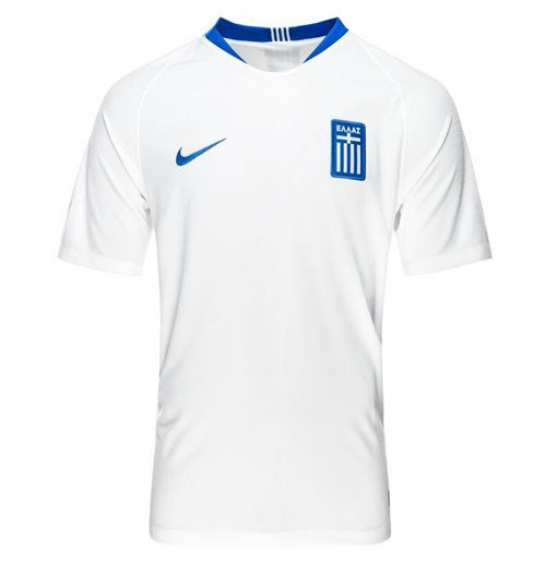 2018-2019 Greece Home Nike Football Shirt