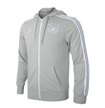 2018-2019 Germany Adidas 3S Full Zip Hoody (Grey)