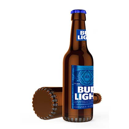 BUD LIGHT Bluetooth Bottle Shaped Speaker