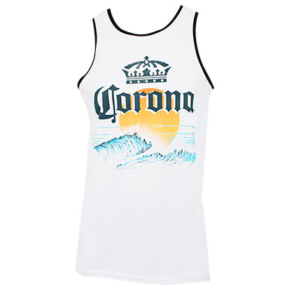 Corona Beach Sun Logo Men's Tank Top