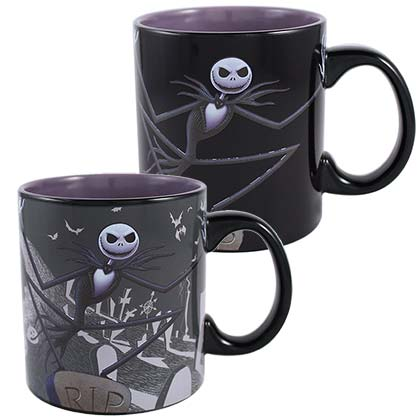 NIGHTMARE BEFORE CHRISTMAS Cemetery Color Change 20oz Mug