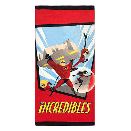 The INCREDIBLES Heroes Beach Towel
