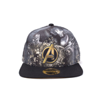 Avengers Infinity War Snap Back Baseball Cap Heroes All AOP