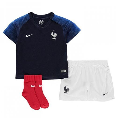 save off fc6c3 12011 2018-2019 France Home Nike Baby Kit