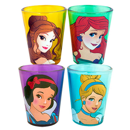 DISNEY Princesses Shot Mini Glass Set